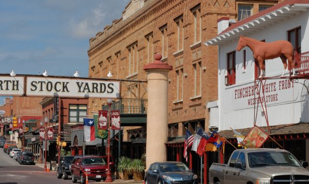 Image of The Forth Worth Stockyards